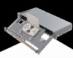 Samm Teknoloji - Aluminium 1U Empty Panel | 24 Holes | AL01 (1)