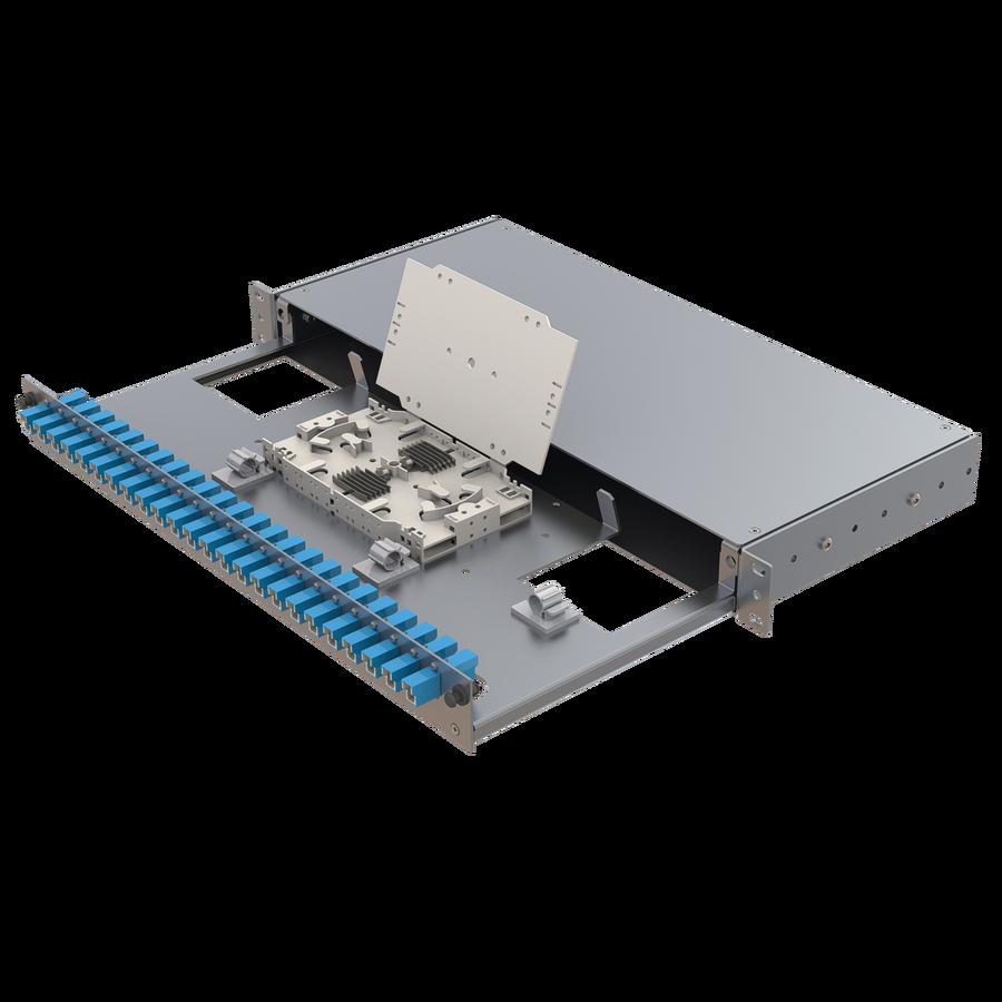 Samm Teknoloji - Alüminyum 1U Patch Panel | 24 E2000 Simplex