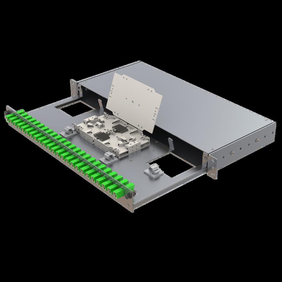 Samm Teknoloji - Alüminyum 1U Patch Panel | 24 E2000 Simplex (1)