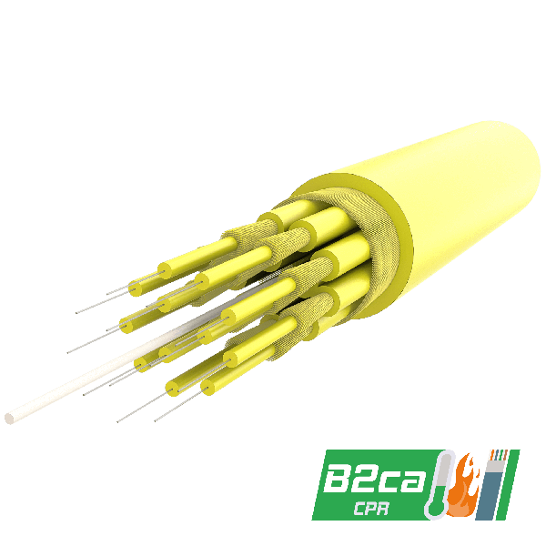 Samm Teknoloji - Breakout Cable | up to 24 Fibers