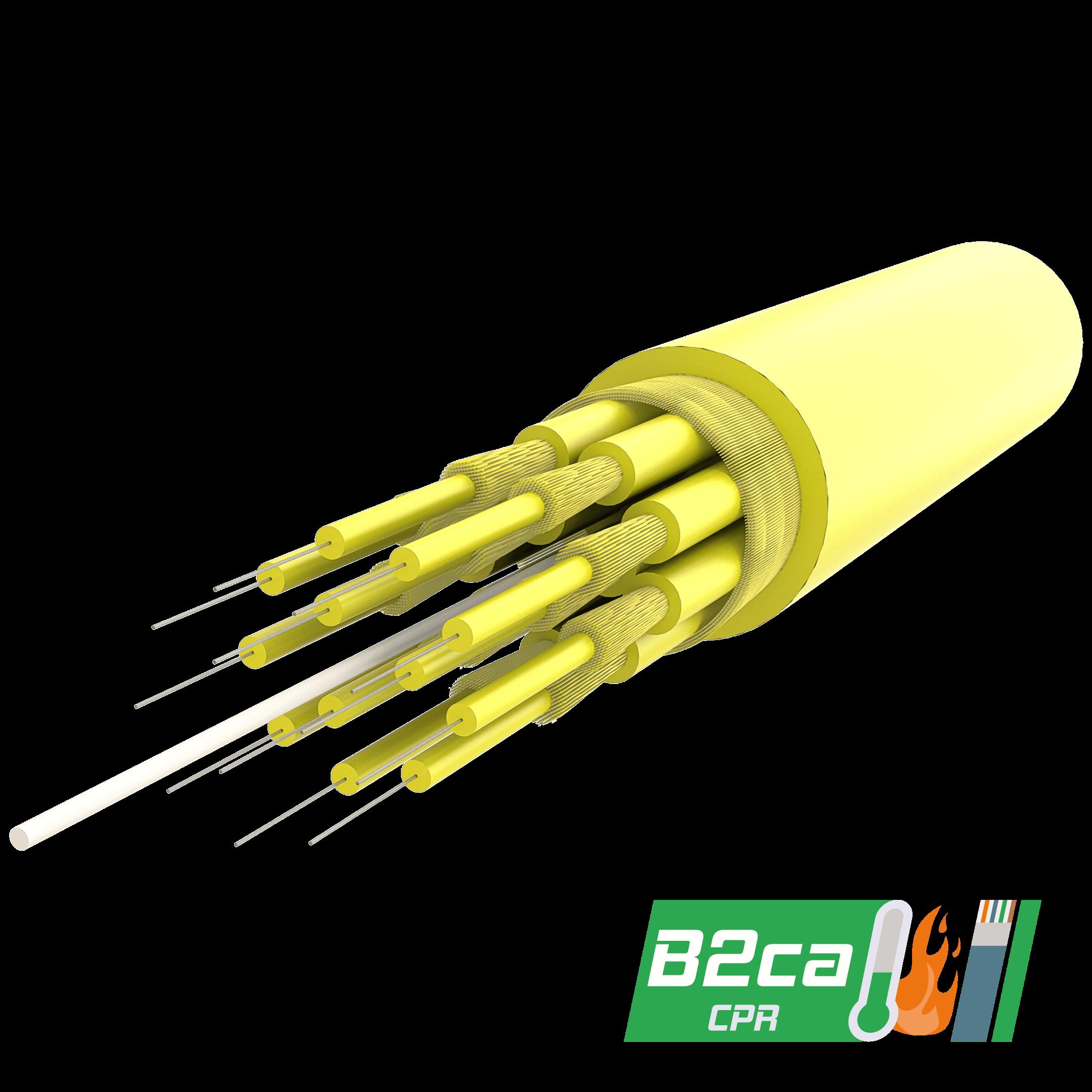 Samm Teknoloji - Breakout Fiber Optik Kablo | up to 24 Fiber