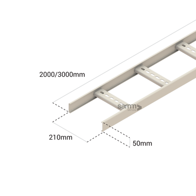 Samm Teknoloji - Cable Pathways | Cable Ladder 210mm (1)