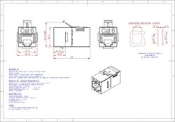 - CAT6 FTP Inline Coupler 180° (1)
