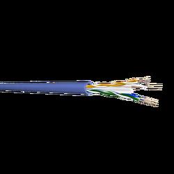 Samm Teknoloji - CAT6 U/UTP Bakır Ağ Kablosu 23AWG | LSZH | Mavi | 500 metre