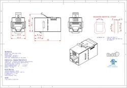 - CAT6A FTP Inline Coupler 180° (1)