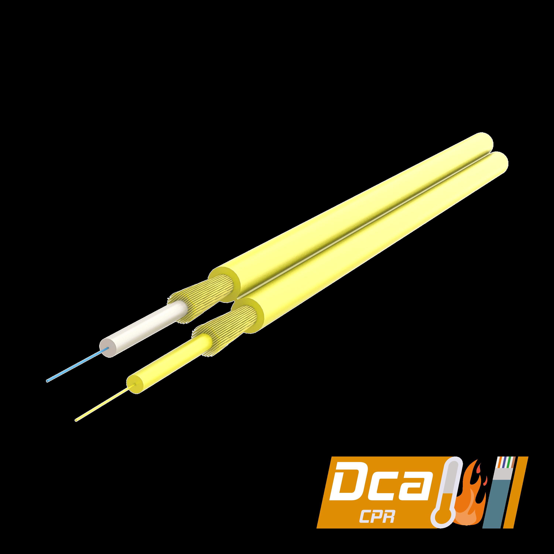 Samm Teknoloji - Dupleks Fiber Optik Kablo 2.0x4.1mm | I-V(ZN)H 1x2 | CPR: Dca | 1000 metre