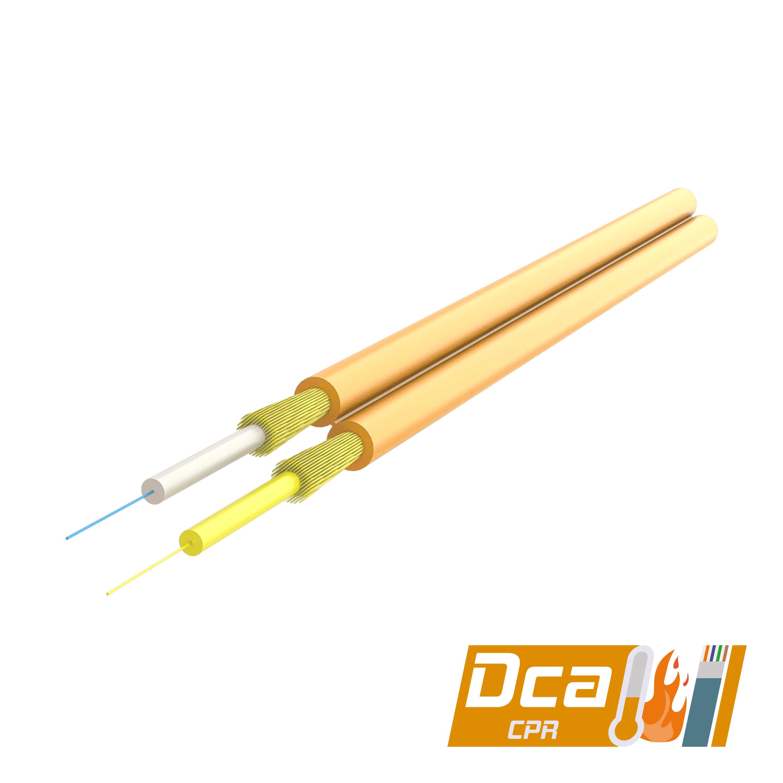 Samm Teknoloji - Dupleks Fiber Optik Kablo 2.0x4.1mm | I-V(ZN)H 1x2 | CPR: Dca | 1000 metre (1)