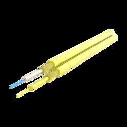 Samm Teknoloji - Duplex Fiber Optic Cable 2.0x4.1mm | I-V(ZN)H 1x2 | 1000 meters