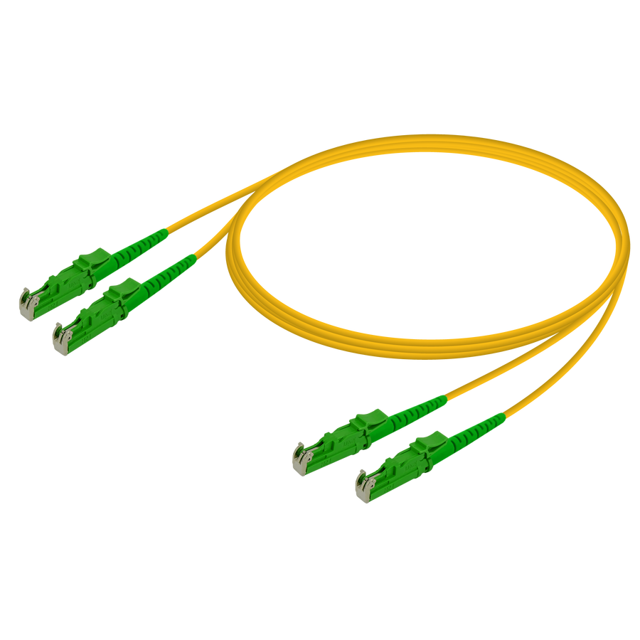 Samm Teknoloji - LSH/APC-LSH/APC | Single Mode G657.A2 Duplex Patch Cord | 2.0x4.1mm