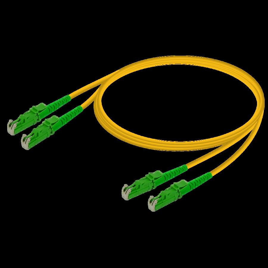 Samm Teknoloji - LSH/APC-LSH/APC | Single Mode G657.A2 Duplex Patch Cord | 2.0x4.1mm