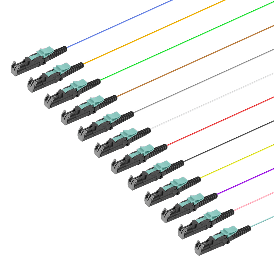 Samm Teknoloji - LSH/UPC 12 Fiber Pigtail   Multi Mode G651.OM3   0.9mm (1)