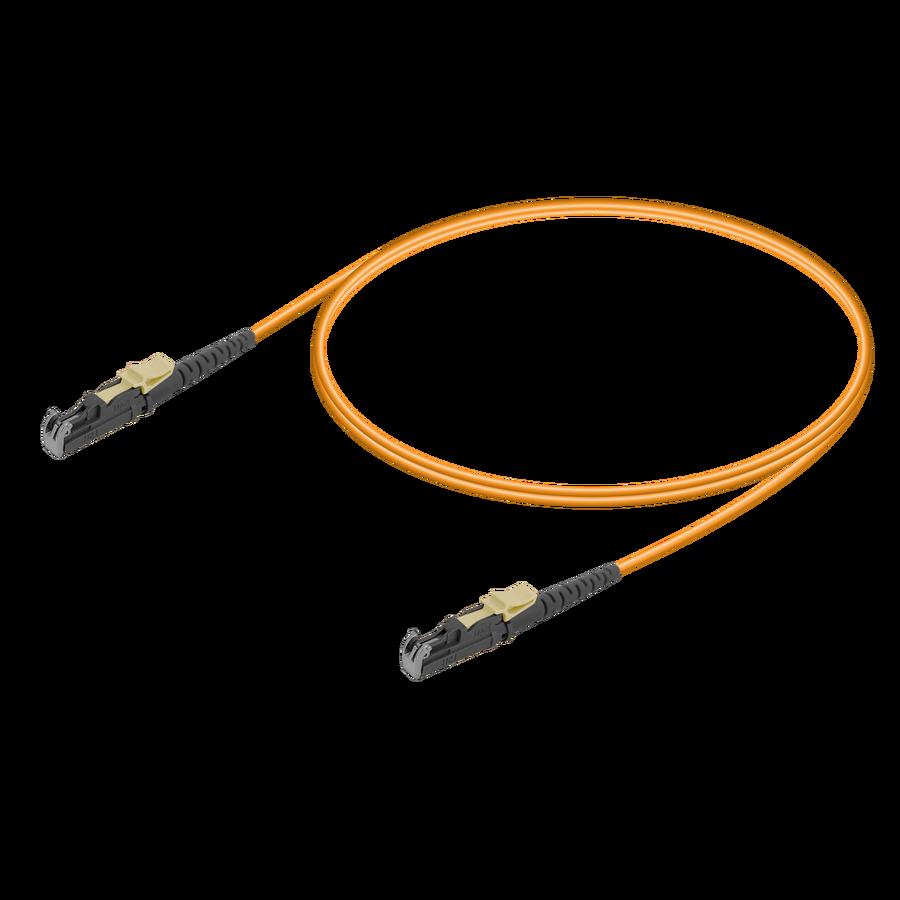 Samm Teknoloji - LSH/UPC-LSH/UPC | Multi Mode G651.OM1 Simplex Patch Cord | 2.0mm