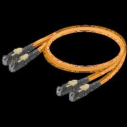 Samm Teknoloji - LSH/UPC-LSH/UPC | Multi Mode G651.OM2 Duplex Patch Cord | 2.0x4.1mm