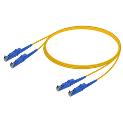 Samm Teknoloji - LSH/UPC-LSH/UPC | Single Mode G657.A2 Duplex Patch Cord | 2.0x4.1mm