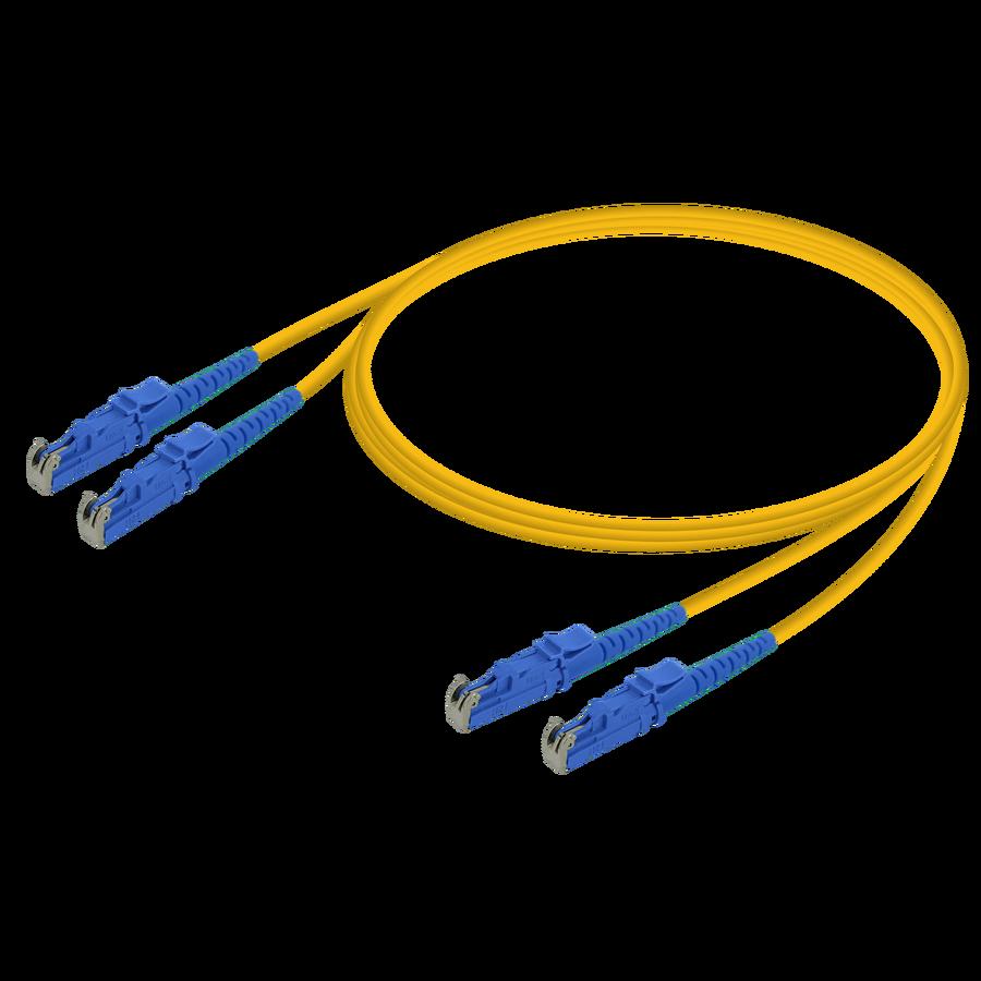Samm Teknoloji - LSH/UPC-LSH/UPC | Single Mode G657.A2 Duplex Patch Cord | 2.0x4.1mm