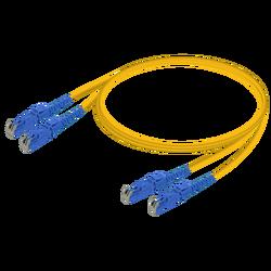 Samm Teknoloji - E2000/UPC-E2000/UPC | Single Mode G657.A2 Duplex Patch Cord | 2.0x4.1mm