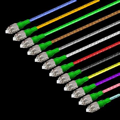 Samm Teknoloji - FC/APC 12 Fiber Pigtail   Single Mode G657.A2   0.9mm (1)