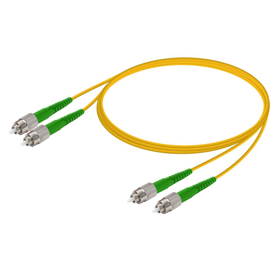 Samm Teknoloji - FC/APC-FC/APC | Single Mode G657.A2 Duplex Patch Cord | 2.0x4.1mm