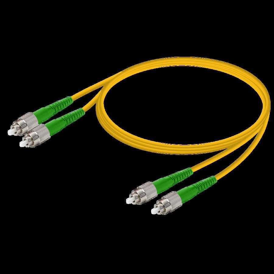 Samm Teknoloji - FC/APC-FC/APC | Single Mode G657.A2 Duplex Patch Cord | 2.0x4.1mm