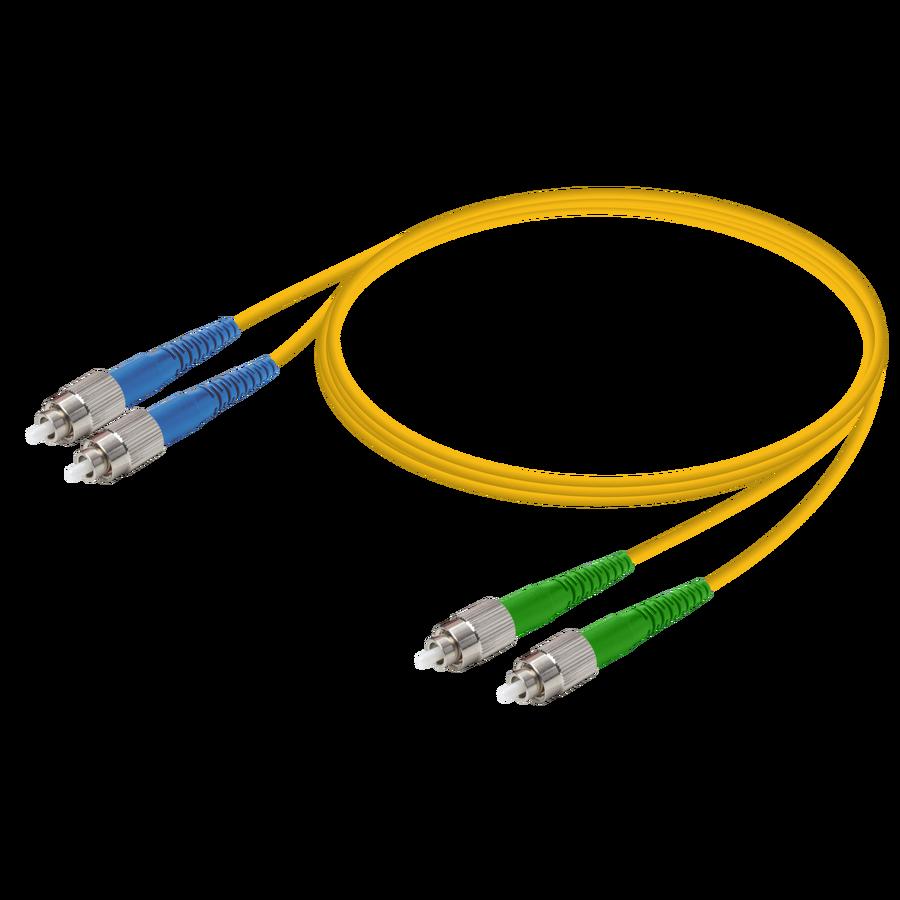 Samm Teknoloji - FC/UPC-FC/APC | Single Mode G657.A2 Duplex Patch Cord | 2.0x4.1mm