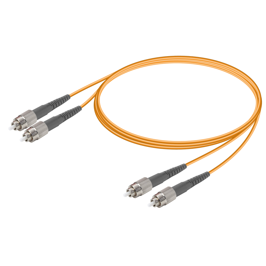 FC/UPC-FC/UPC | Multi Mode G651.OM1 Duplex Patch Cord | 2.0x4.1mm