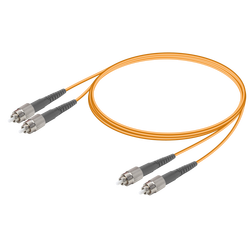 Samm Teknoloji - FC/UPC-FC/UPC | Multi Mode G651.OM2 Duplex Patch Cord | 2.0x4.1mm