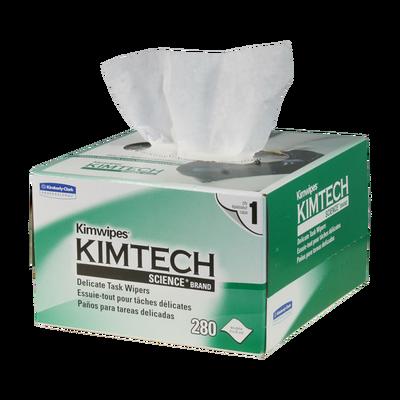 - Fiber Cleaning Wipes | Kimwipes 280 Pcs | 210x110mm