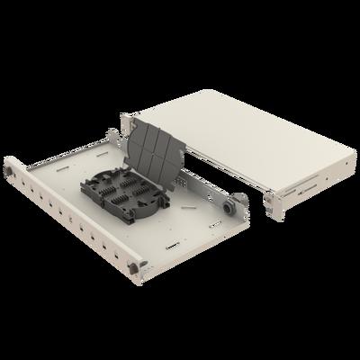 Samm Teknoloji - Mekanik Kızaklı | 1U Fiber Patch Panel | 12 Yuva | EFP11 (1)