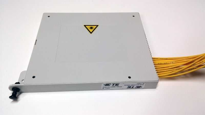 - Fiber Optic PLC Cabinet/Shelf Type Splitter