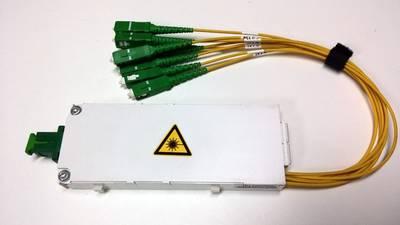 - Fiber Optic PLC Cabinet/Shelf Type Splitter (1)