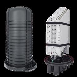 Samm Teknoloji - Fiber Optic Splice Closure | 12 Trays 864 Fibers 6 Ports | 566250