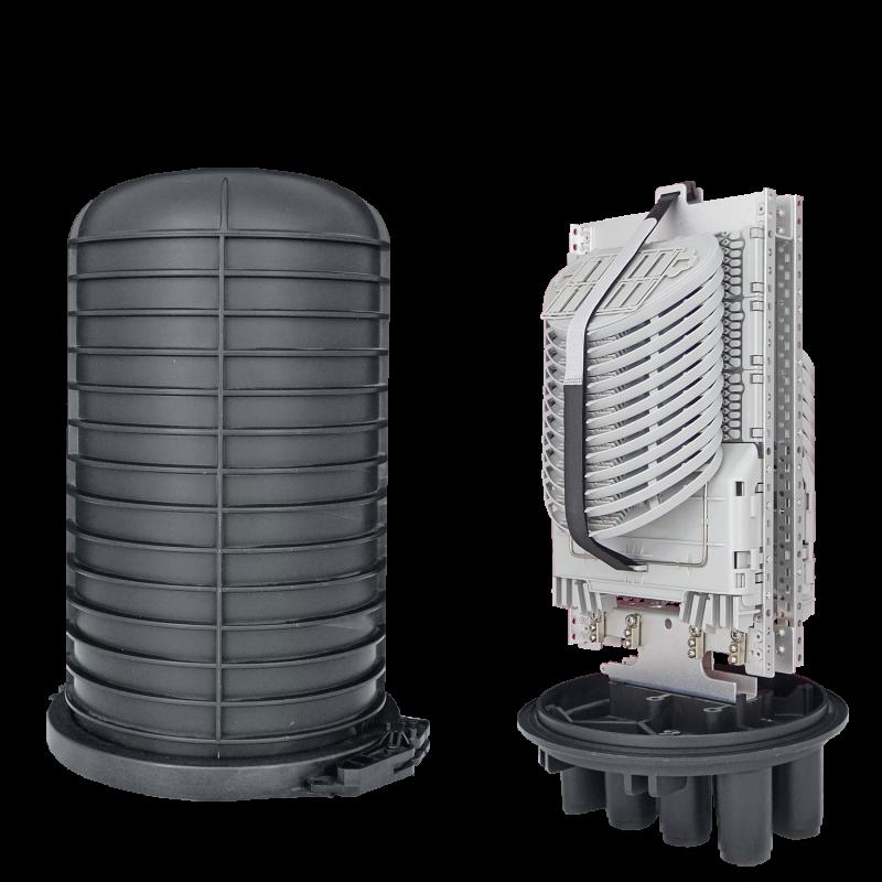 Samm Teknoloji - Fiber Optic Splice Closure | 24 Trays 288 Fibers 6 Ports | 492250