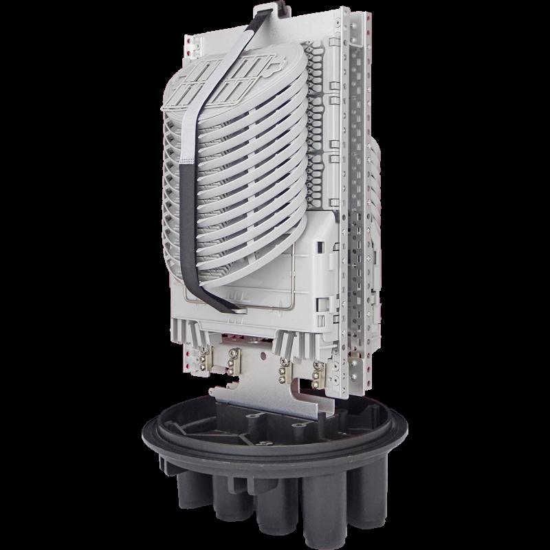 Samm Teknoloji - Fiber Optic Splice Closure | 24 Trays 288 Fibers 6 Ports | 492250 (1)