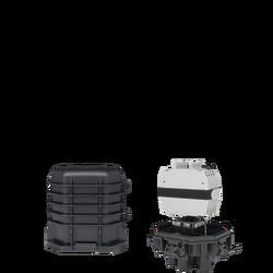 Samm Teknoloji - Fiber Optic Splice Closure | 4 Trays 48 Fibers 3 Ports | 245172