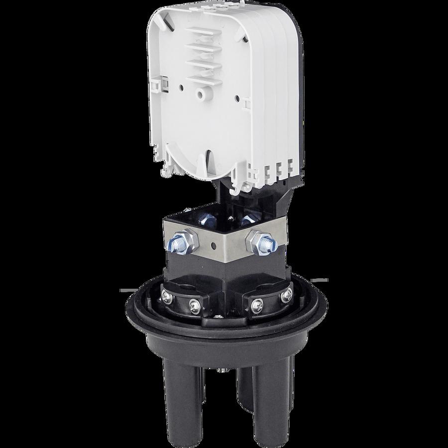 Samm Teknoloji - Fiber Optic Splice Closure | 4 Trays 48 Fibers 3 Ports | 290140 (1)