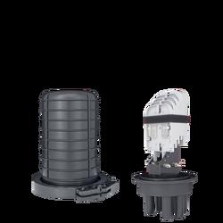 Samm Teknoloji - Fiber Optic Splice Closure | 4 Trays 96 Fibers 4 Ports | 345175