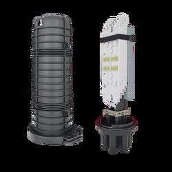 Samm Teknoloji - Fiber Optic Splice Closure | 4 Trays 96 Fibers 4 Ports | 540170-2