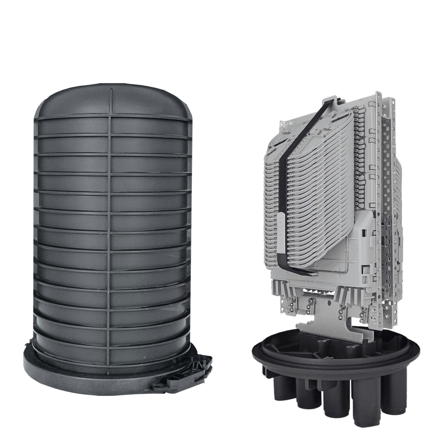 Samm Teknoloji - Fiber Optic Splice Closure | 48 Trays 576 Fibers 6 Ports | 492250