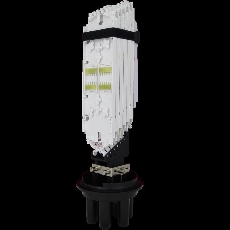 Samm Teknoloji - Fiber Optic Splice Closure | 6 Trays 144 Fibers 4 Ports | 540170 (1)