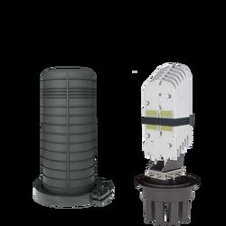 Samm Teknoloji - Fiber Optic Splice Closure | 6 Trays 144 Fibers 6 Ports | 450175