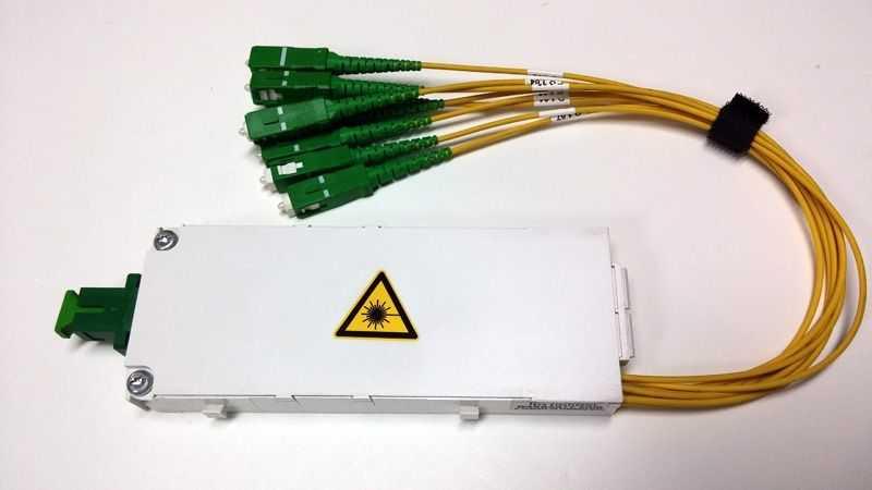 - Fiber Optik PLC Kabinet/Çekmece Tipi Splitter (1)
