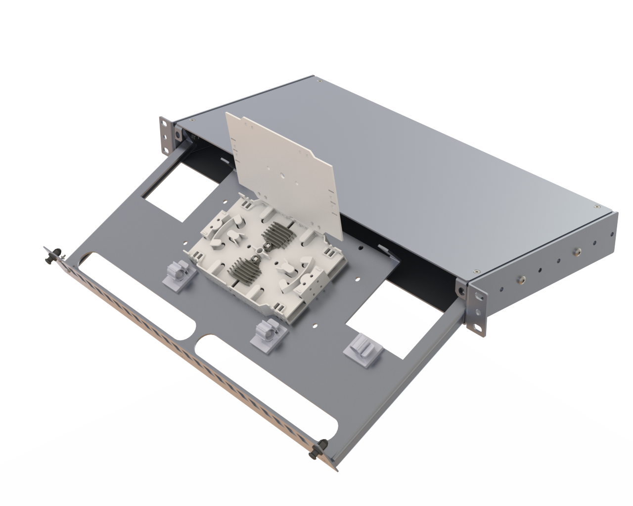 Samm Teknoloji - Alüminyum 1U Boş Panel | 24 Yuva (1)