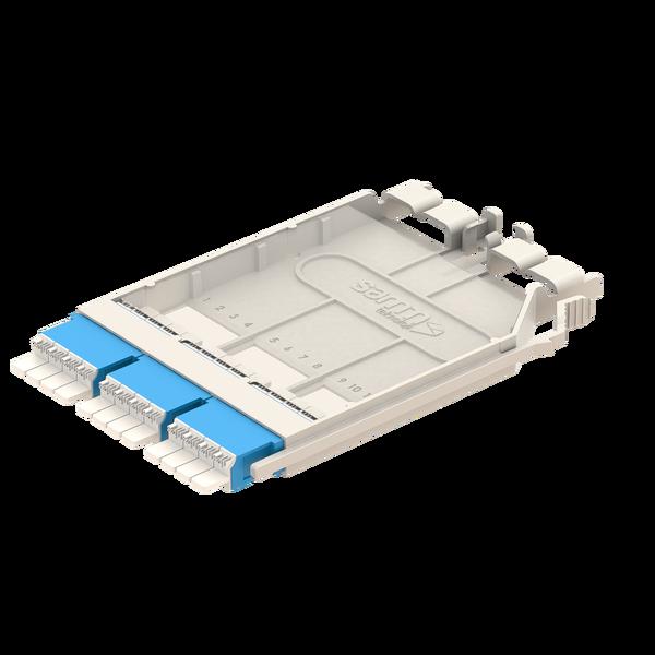 Samm Teknoloji - G-Connect   UHD LC Patch Cassette   3xLC Quad Adapter