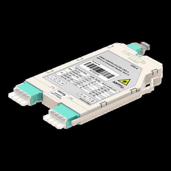 Samm Teknoloji - G-Connect   UHD MTP-LC Conversion Cassette   OM3   Base-8