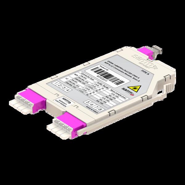Samm Teknoloji - G-Connect   UHD MTP-LC Conversion Cassette   OM4   Base-8