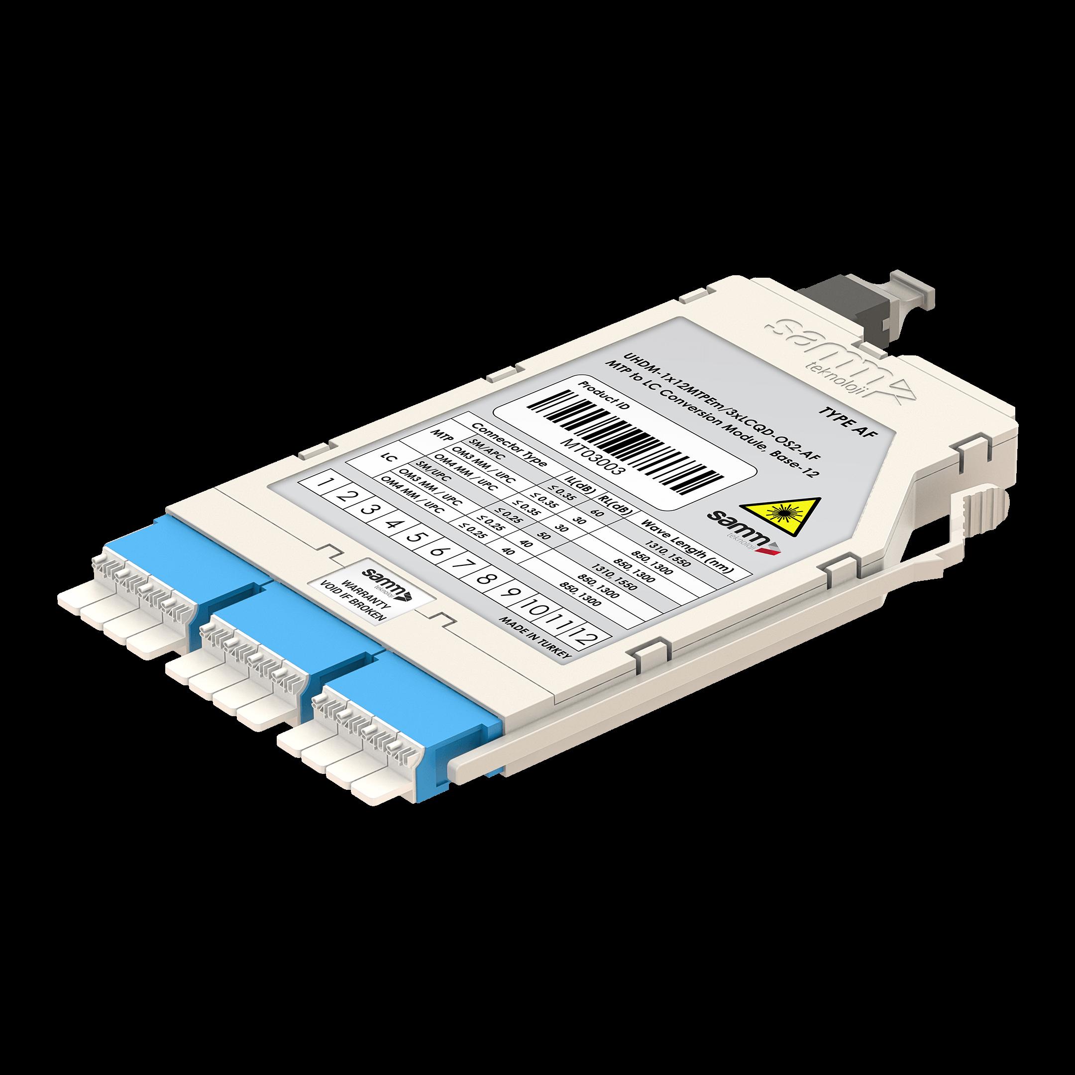 G-Connect | UHD MTP-LC Dönüşüm Kaseti | OS2 | Base-12