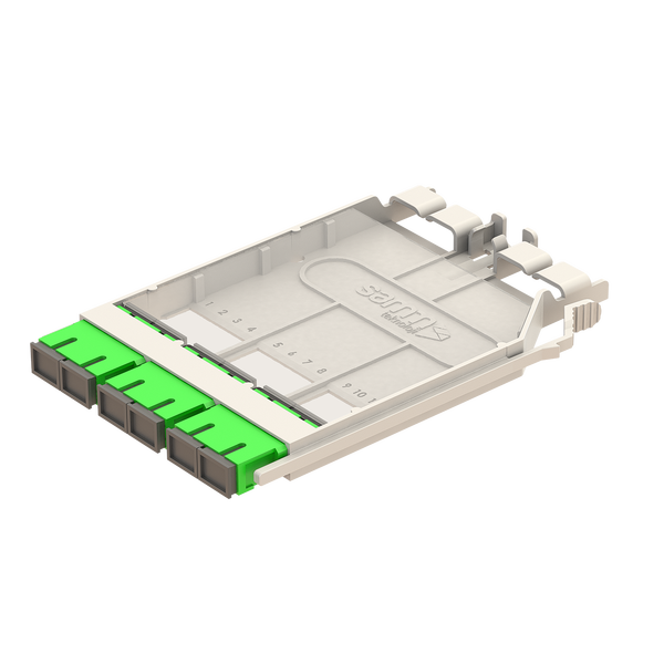 Samm Teknoloji - G-Connect   UHD SC Patch Cassette   3xSC Duplex Adapter (1)