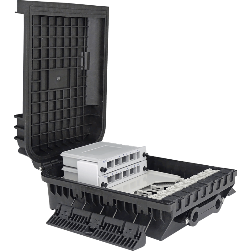 Samm Teknoloji - Harici Sonlandırma Kutusu   1 Kaset   24 Fiber   16 LGX   305216