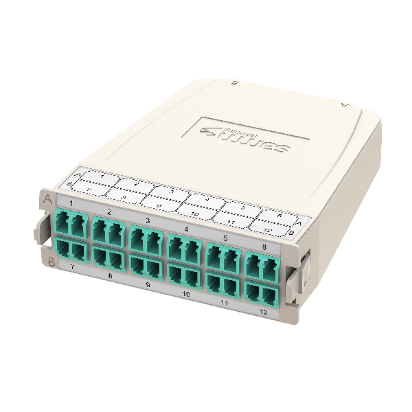 Samm Teknoloji - HD MTP-LC Conversion Cassette   OM3   2xBase-12