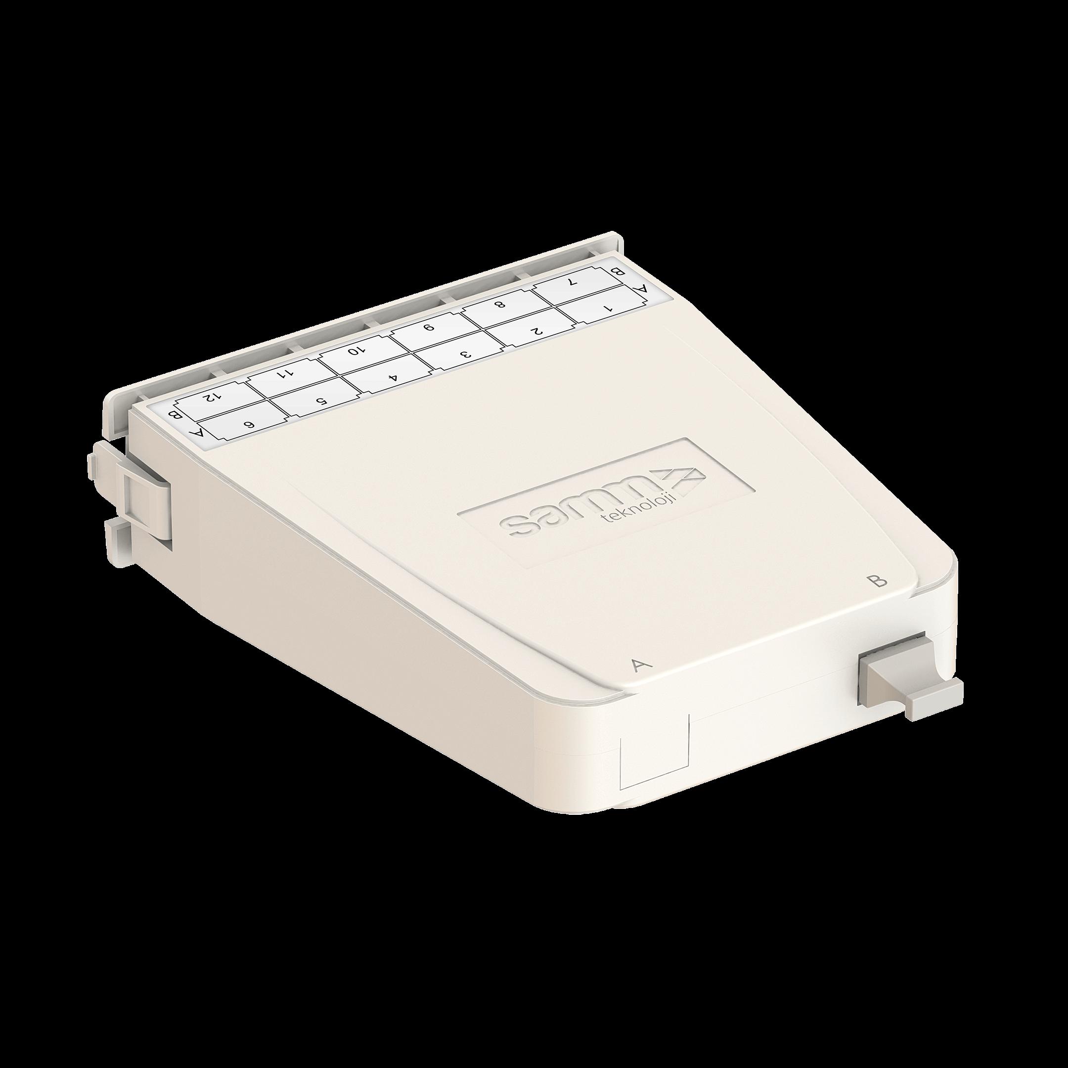 Samm Teknoloji - HD MTP-LC Dönüşüm Kaseti | OM3 | 1xBase-24 (1)